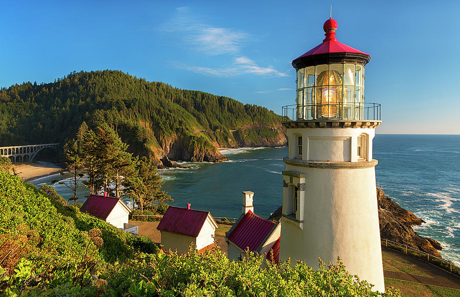 Heceta Head Lighthouse by Patrick Campbell