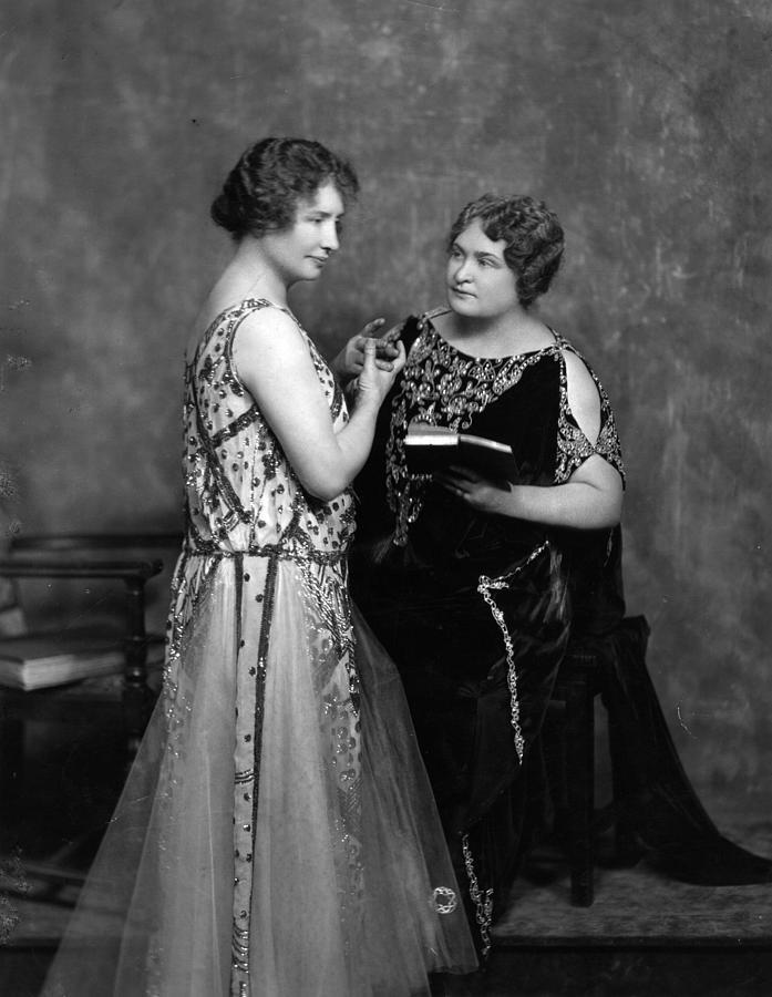 Helen Keller Photograph by Hulton Archive