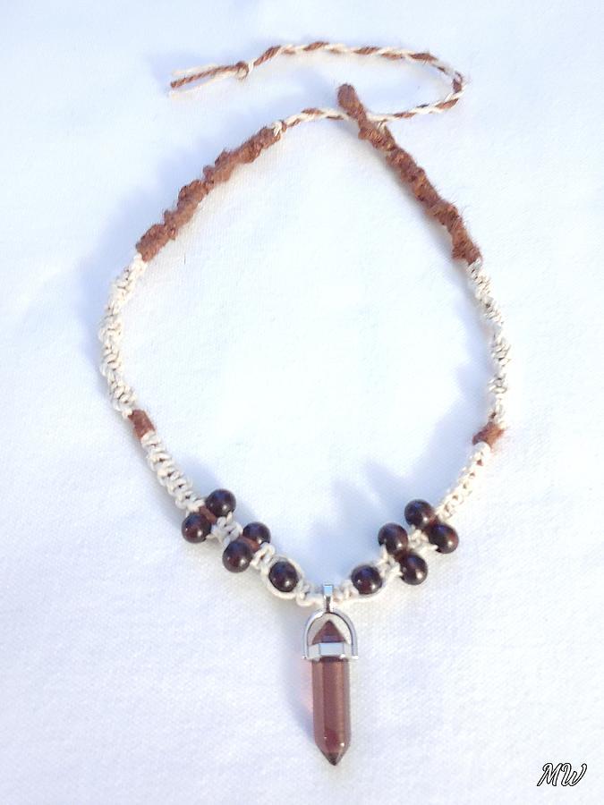 Hemp Glow in the Dark Necklace by Michelle  White
