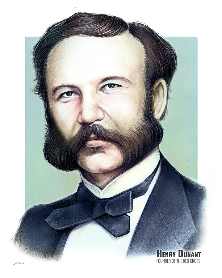 Henry Dunant Mixed Media