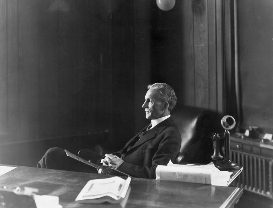 Henry Ford Photograph by Hulton Archive
