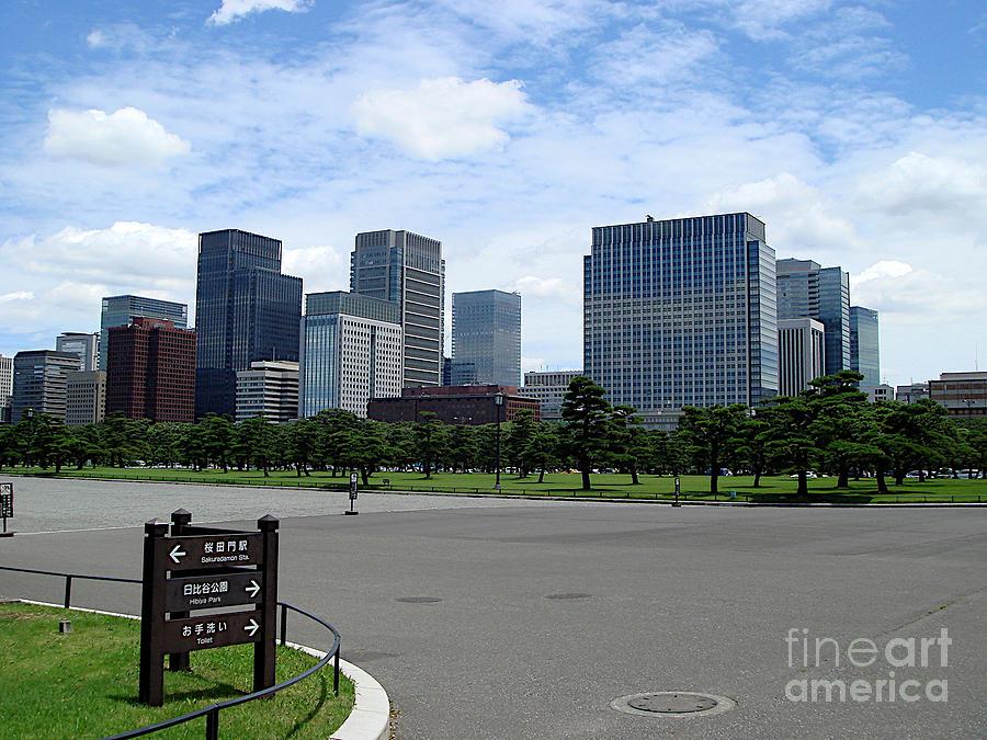 Hibiya Park, Tokyo by Yvonne Johnstone