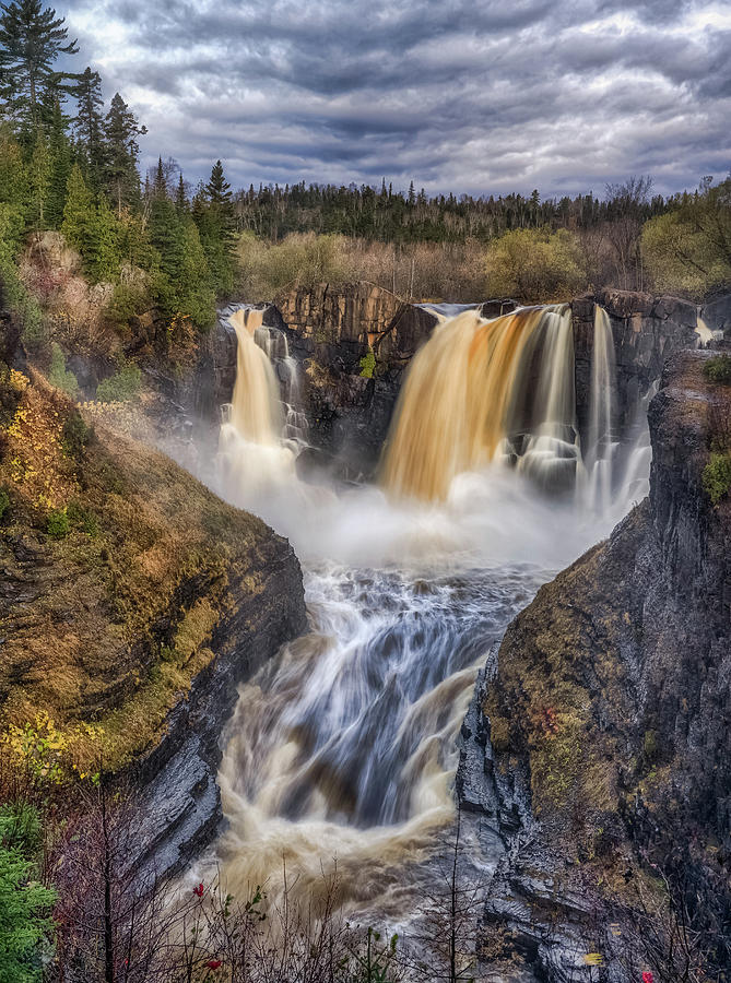 High Falls by Brad Bellisle