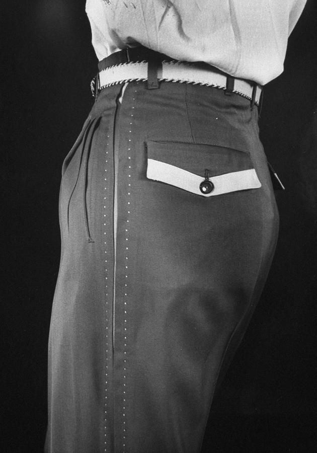 High Style In Mens Fashions, Extreme St 1 Photograph by Nina Leen