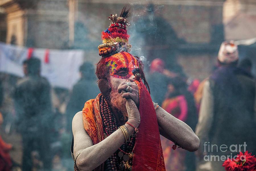 Hindu Devotees Gather For Annual Shiva Photograph by Omar Havana