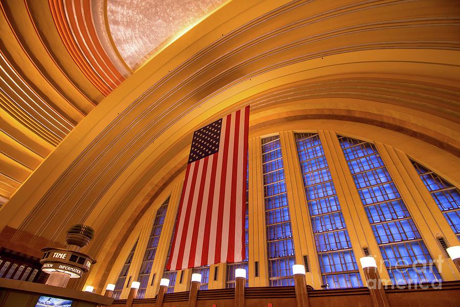 Historic Cincinnati Union Terminal Train Station by Gary Whitton