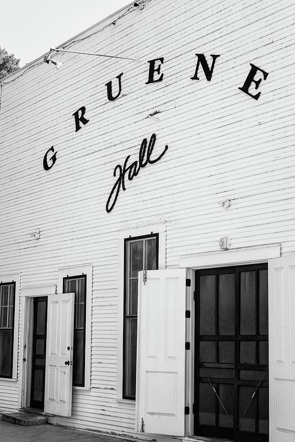 Gruene Photograph - Historic Gruene Hall by Stephen Stookey