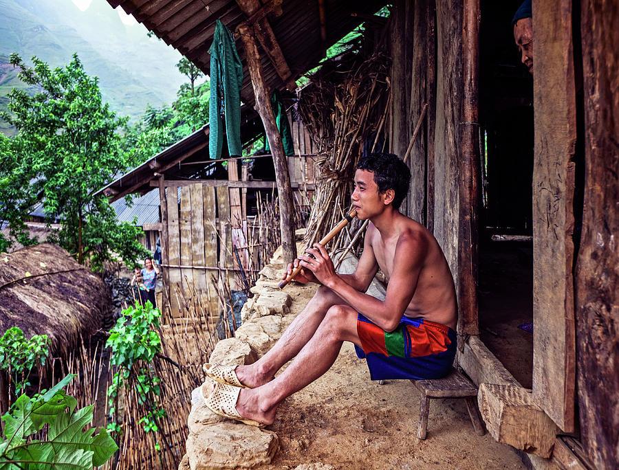 Hmong Village In Vietnam 1 Photograph by Bruno De Hogues