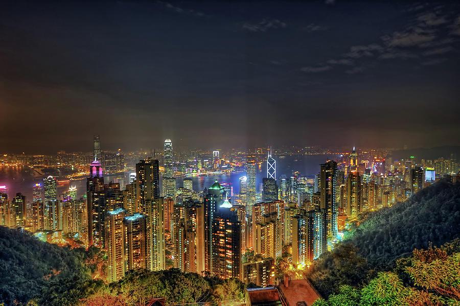 Hong Kong City Photograph by Daniel Chui