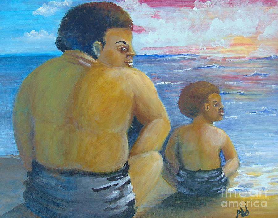 Hope Painting - Edge of Hope by Saundra Johnson
