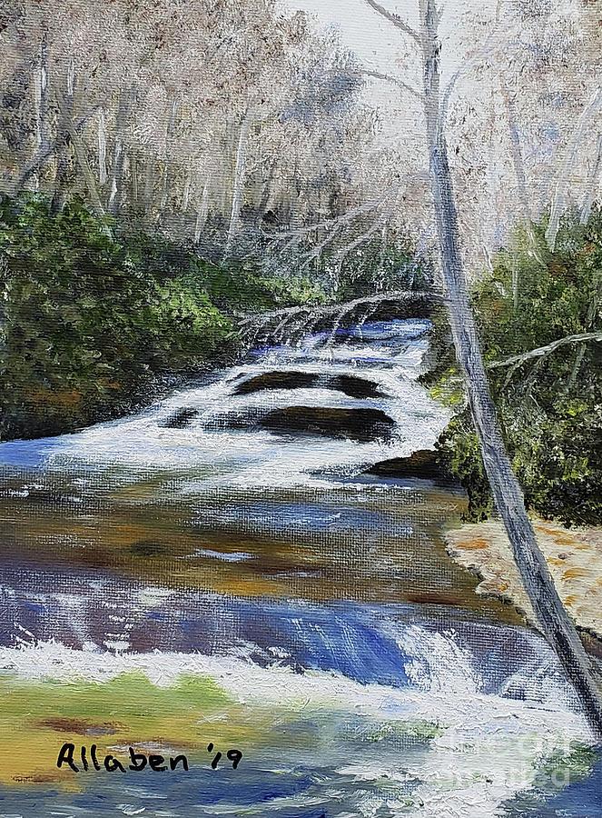 Horsepasture River by Stanton Allaben