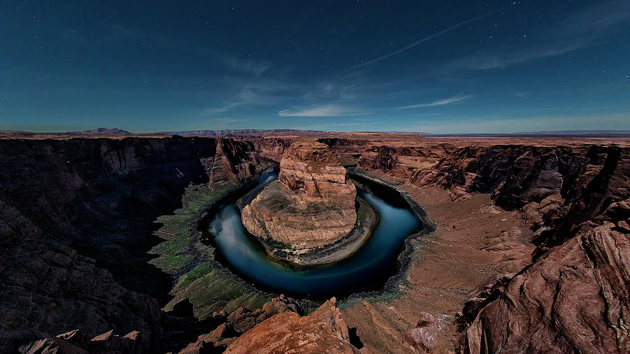 Horseshoe Bend by Moonlight by David Soldano