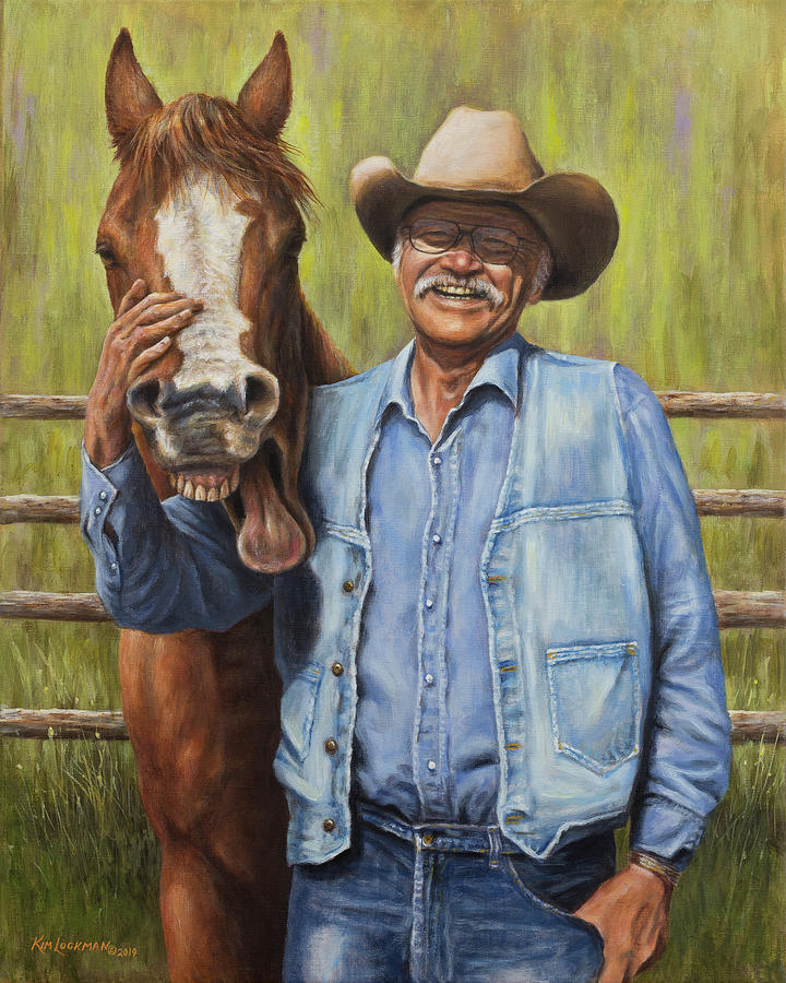 Horsin' Around by Kim Lockman