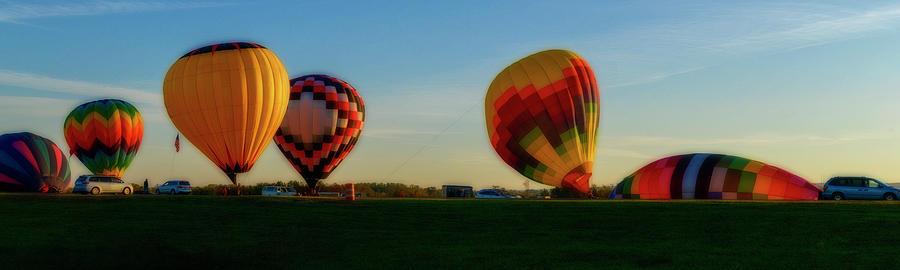 Hot Air Balloons Morgantown by Dan Friend