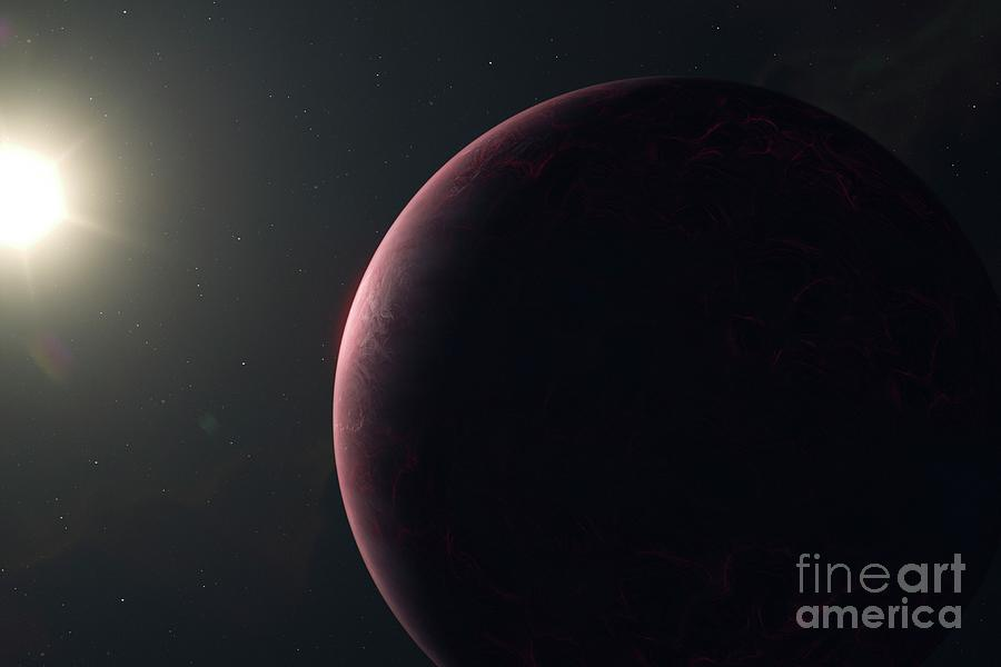 Exoplanet Photograph - Hot Exoplanet by Hypersphere/science Photo Library