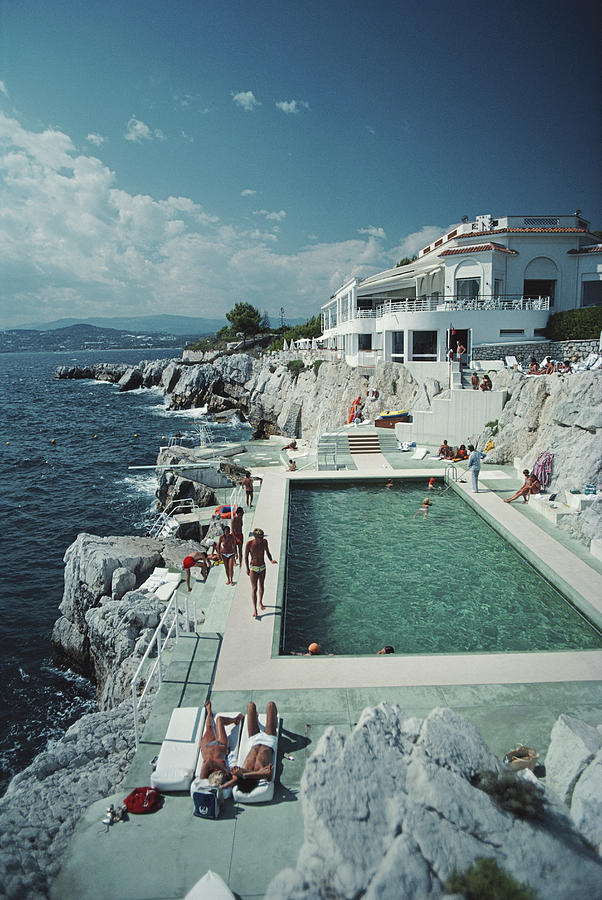 Hotel Du Cap Eden-roc 1 Photograph by Slim Aarons