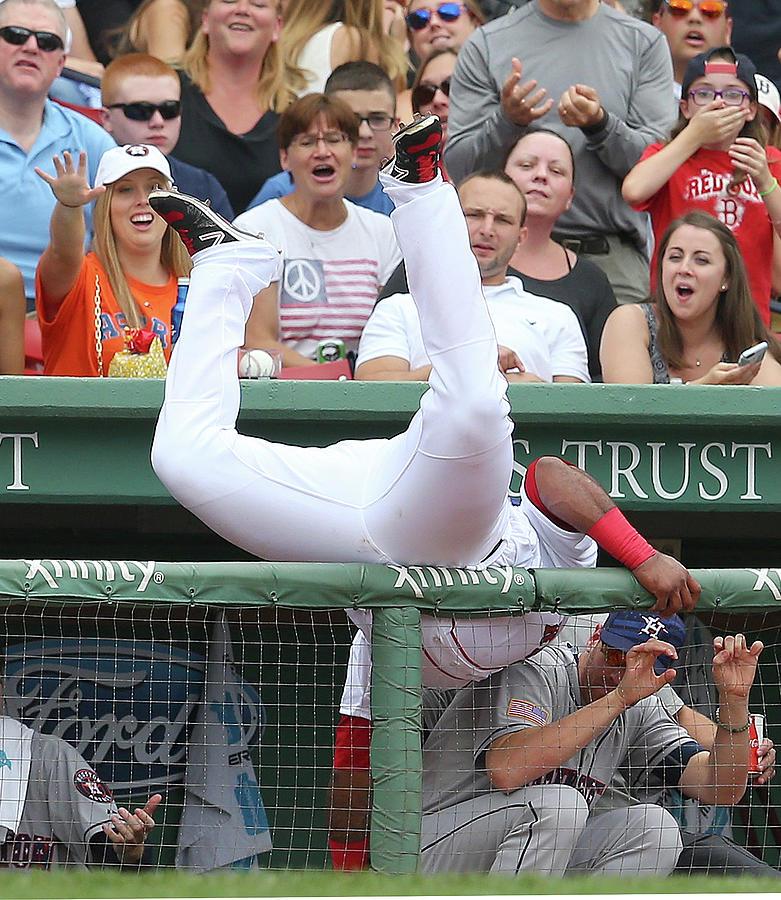 Houston Astros V Boston Red Sox Photograph by Jim Rogash