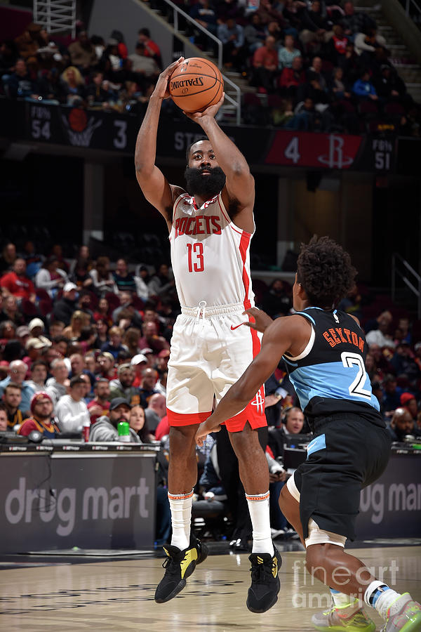 Houston Rockets V Cleveland Cavaliers Photograph by David Liam Kyle