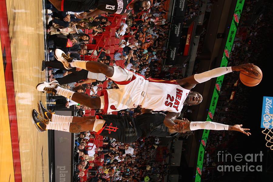 Houston Rockets V Miami Heat Photograph by Oscar Baldizon