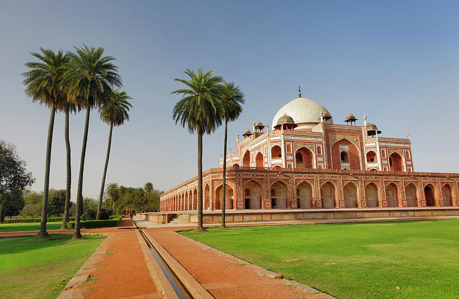 Humayuns Tomb Photograph by Adam Jones