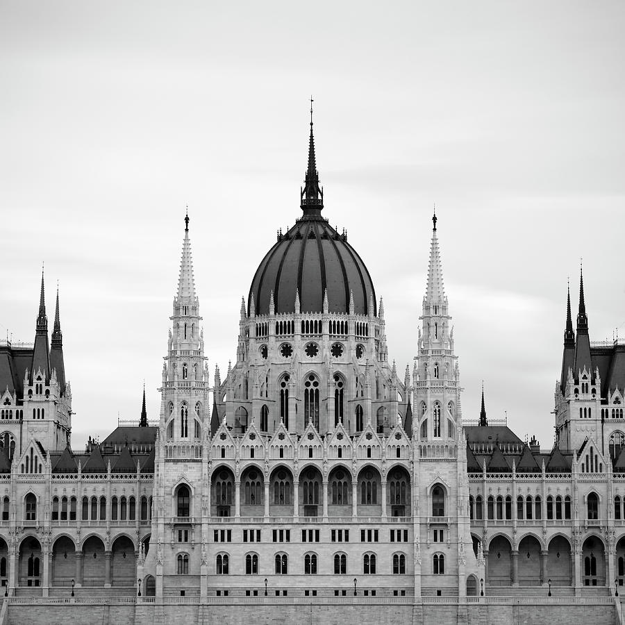 Hungarian Parliament Building Photograph by Alex Holland