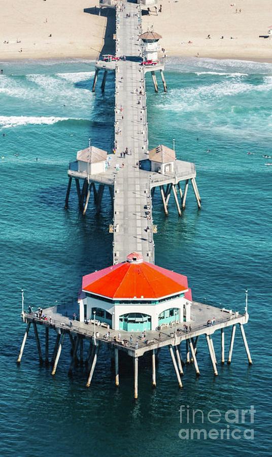 Huntington Beach Pier  by EliteBrands Co