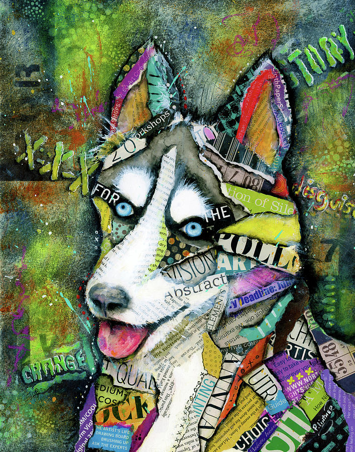 Husky by Patricia Lintner