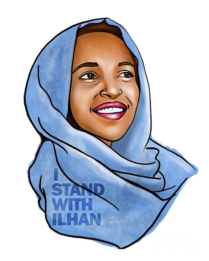 I STAND WITH ILHAN by HD Connelly
