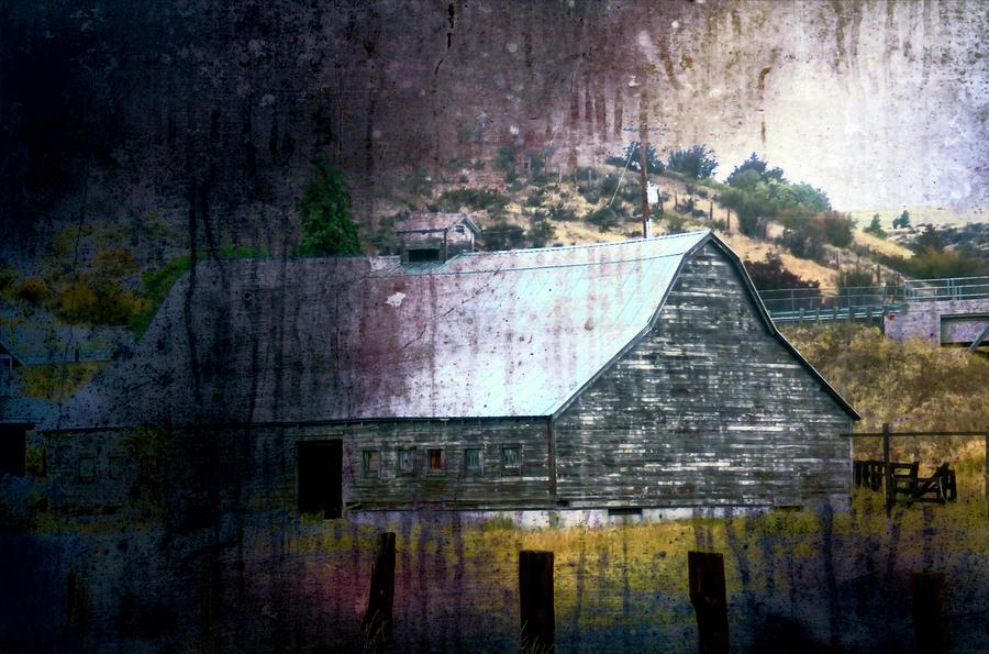 I90 Barn 2 by Cathy Anderson