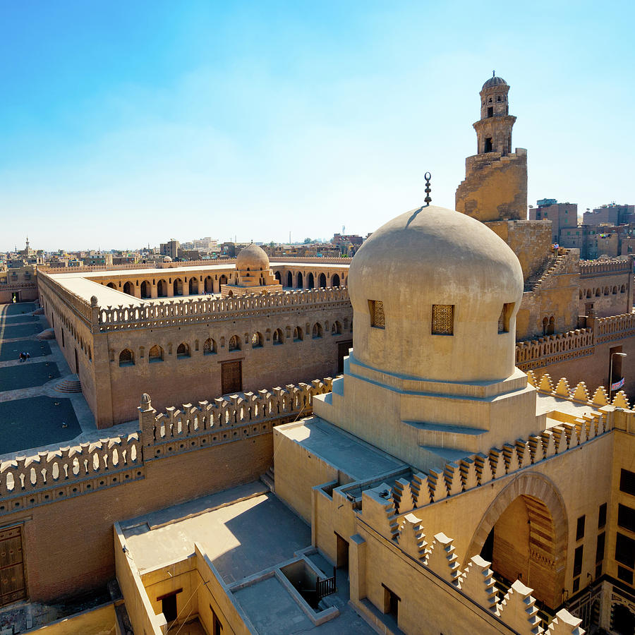 Ibn Tulun Mosque In Cairo, Egypt Photograph by Asier