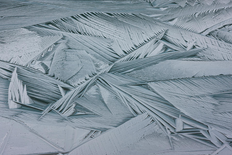 Ice Crystals, Japser National Park Photograph by Mint Images/ Art Wolfe