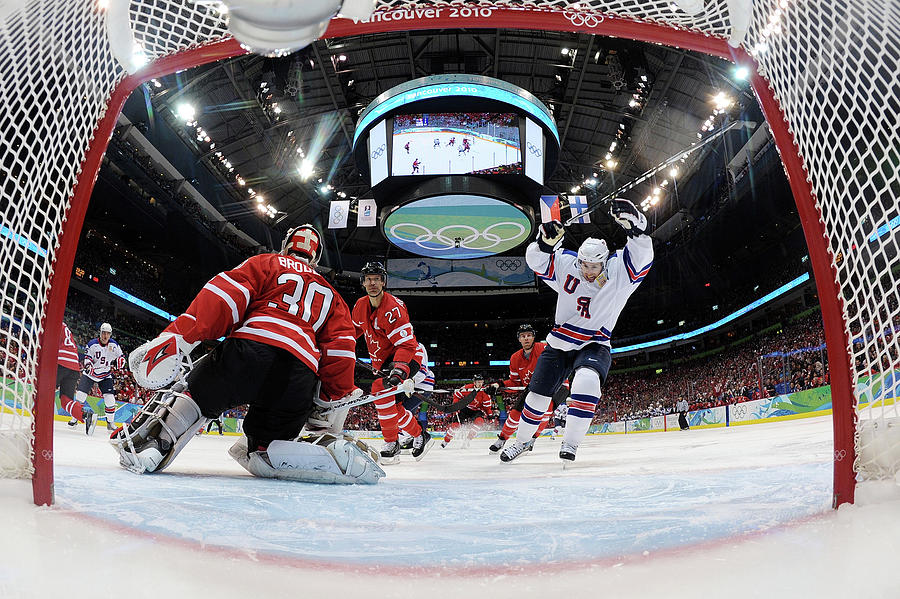 Ice Hockey - Day 10 - Canada V Usa Photograph by Bruce Bennett