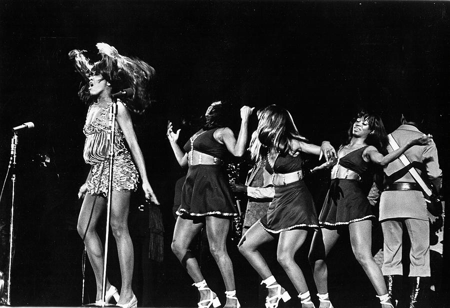 Ike & Tina Turner At The Greek Photograph by Michael Ochs Archives