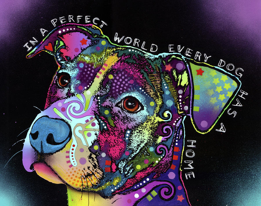 In A Perfect World Mixed Media - In A Perfect World by Dean Russo