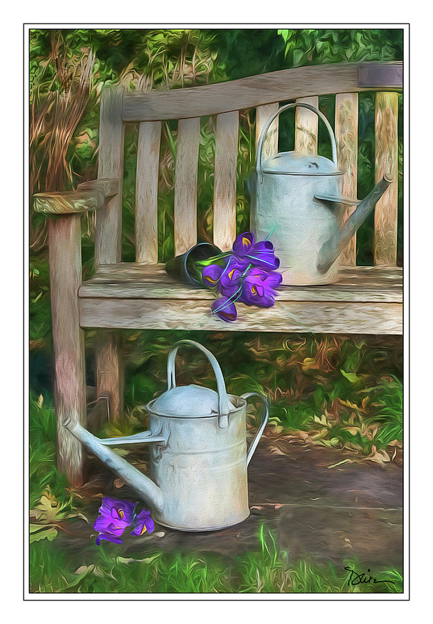 In The Garden by Peggy Dietz