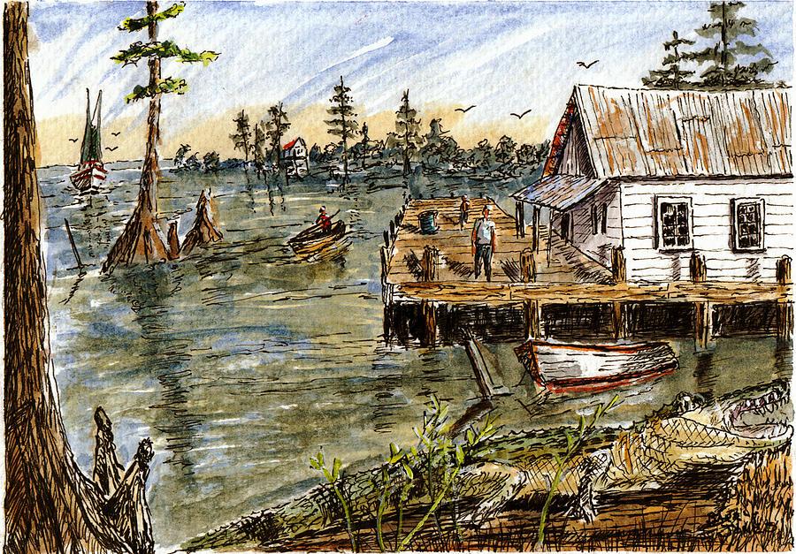 In The Swamp by Barry Jones
