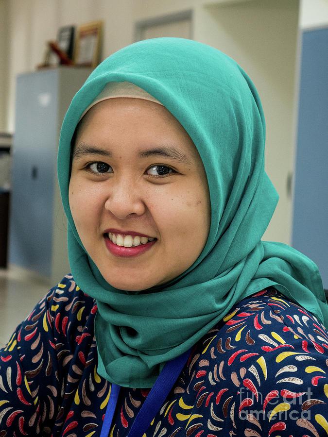 Indonesian Muslim Woman by Yermia Riezky Santiago