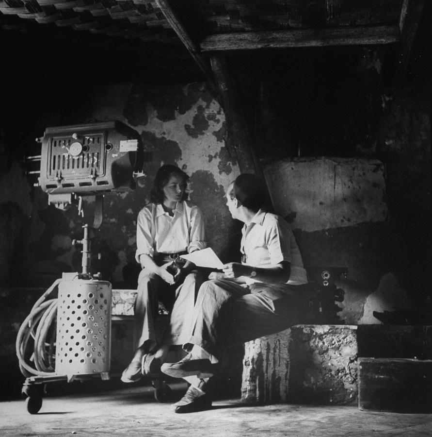 Ingrid Bergmanroberto Rossellini Photograph by Gordon Parks