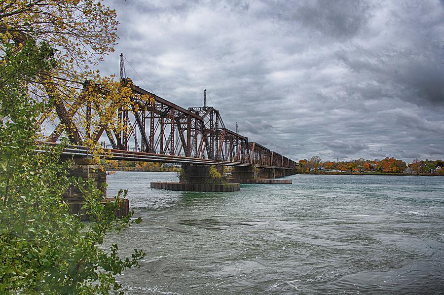 International Bridge by Guy Whiteley