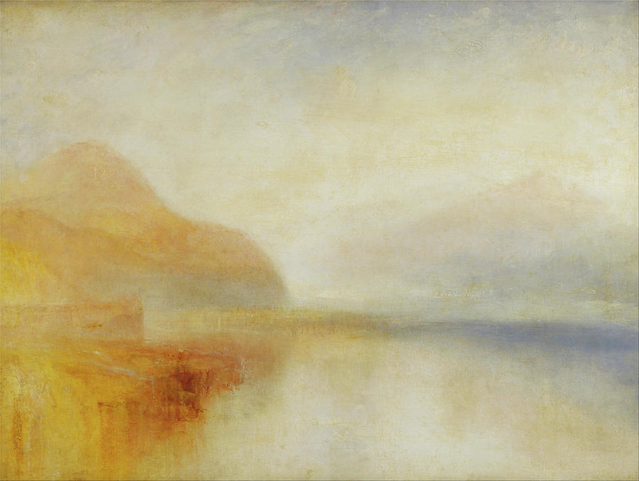 Inverary Pier Loch Fyne Morning  by Joseph Mallord William Turner