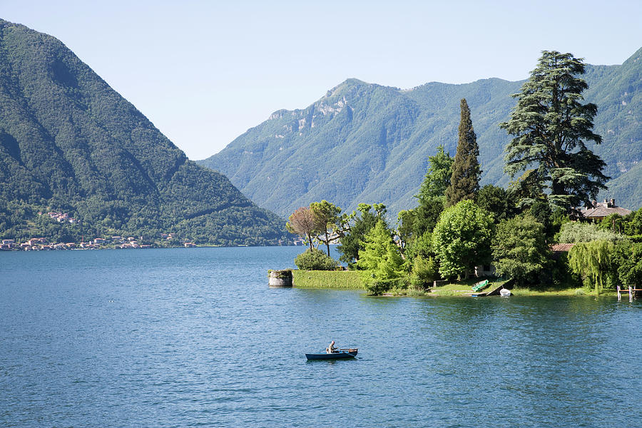 Italy, Lombardy, Lake Como, Ossuccio Photograph by Buena Vista Images