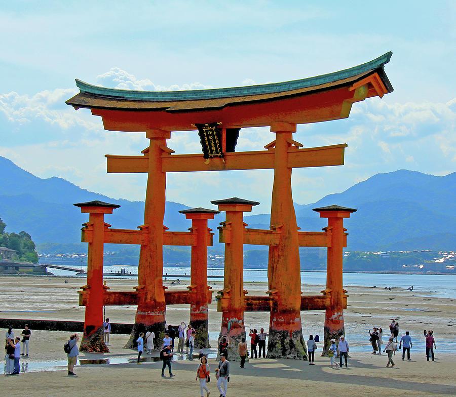 Itsukushima Shrine - Mayajima Island, Japan by Richard Krebs
