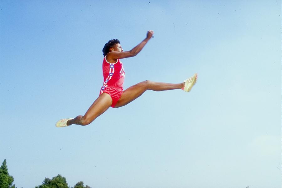 Jackie Joyner-kersee Photograph by Tony Duffy
