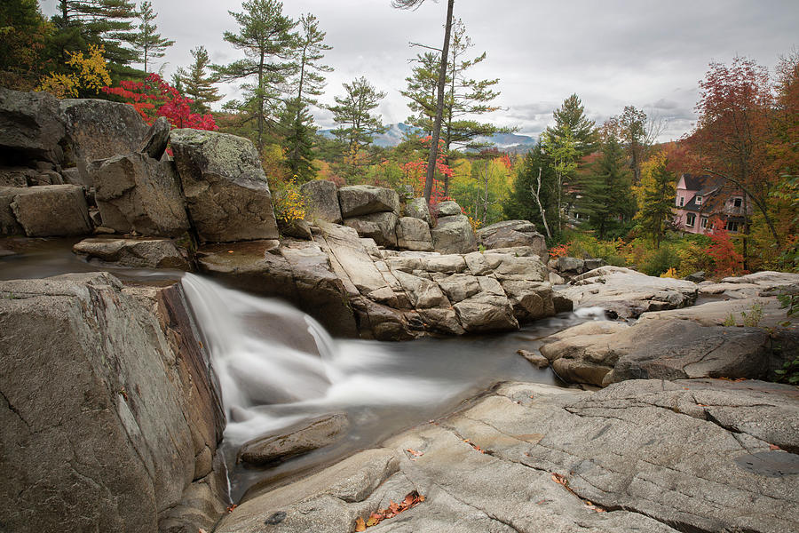 Jackson Falls, New Hampshire by Greg Parsons