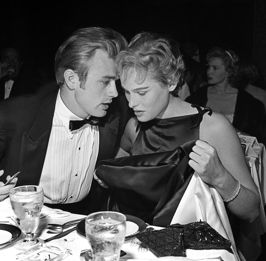 James Dean And Ursula Andress Photograph by Michael Ochs Archives