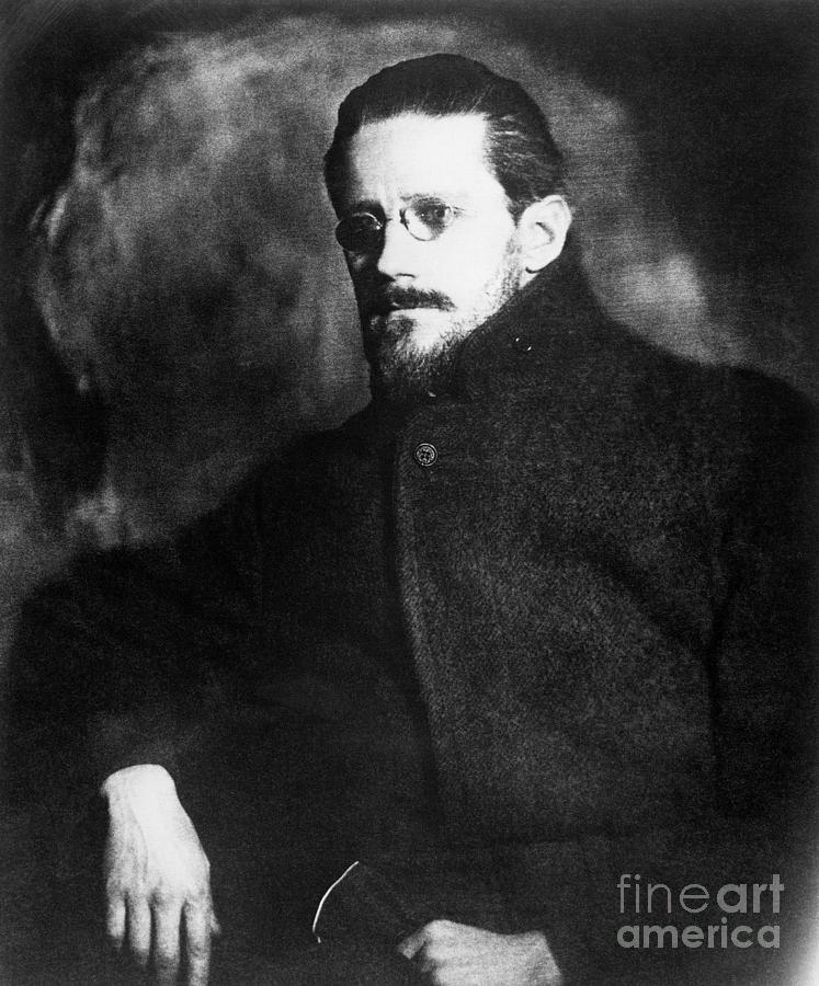 James Joyce Photograph by Bettmann