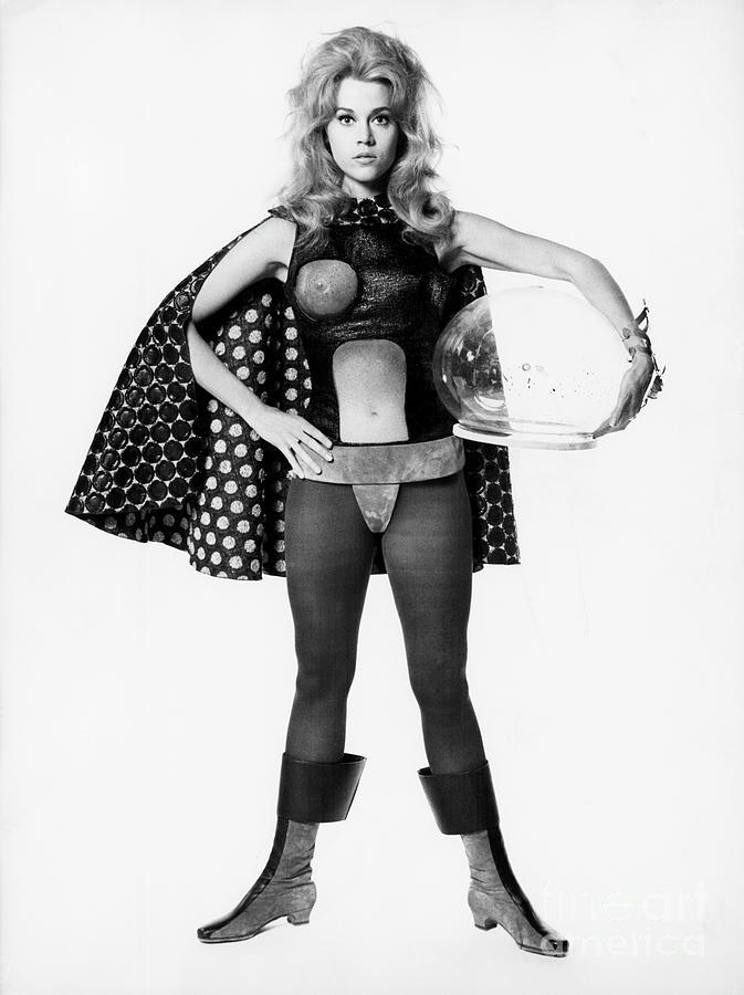 Jane Fonda As Barbarella Photograph by Bettmann
