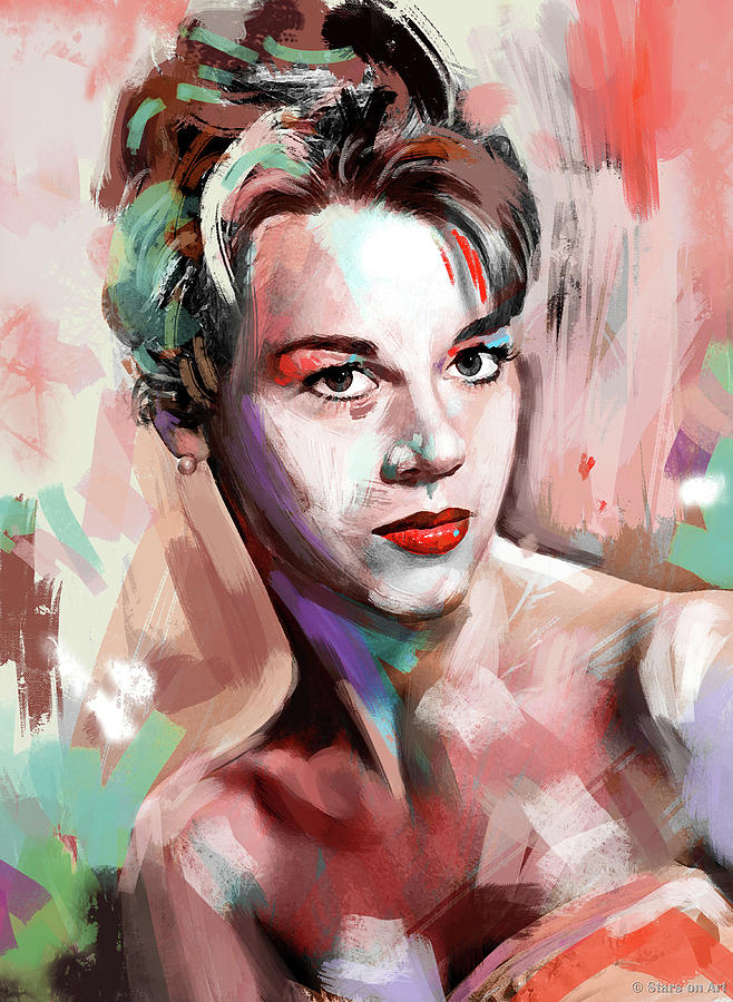 Jane Fonda by Stars on Art