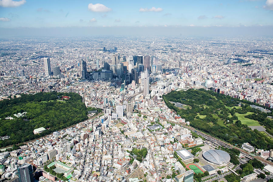 Japan, Tokyo, Shinjuku, Tokyo Photograph by Flashfilm