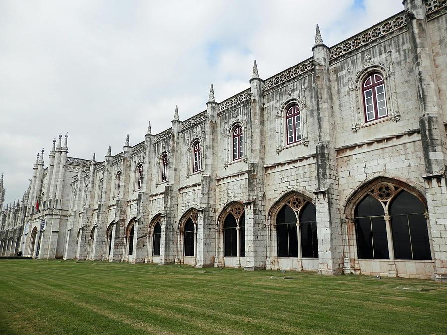 Jeronimos Monastery in Belem, Portugal by Pema Hou